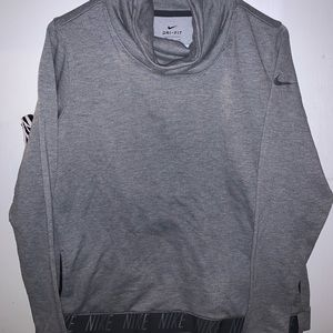 Nike cow neck sweater